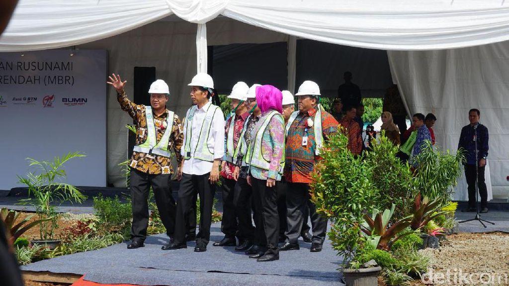 Setelah Tangsel, Jokowi Akan Bangun Rumah Buruh di Depok