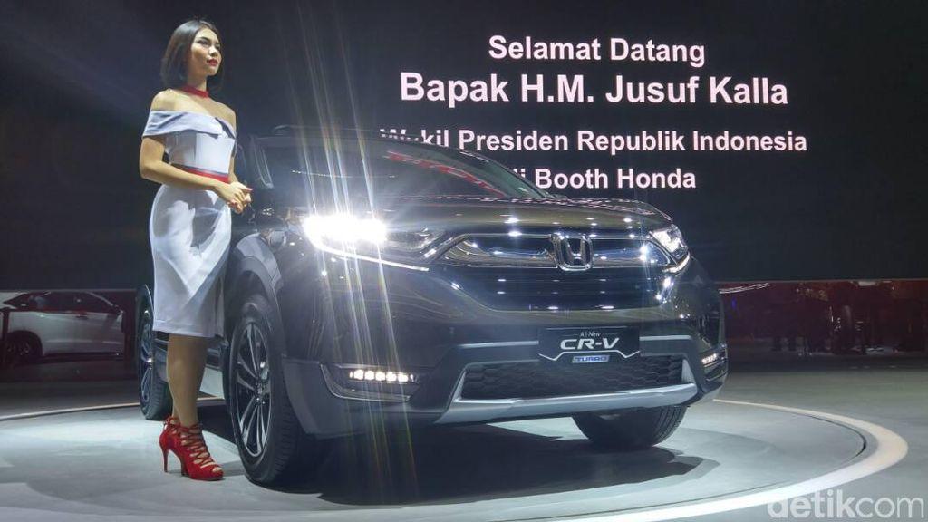 Honda Luncurkan CR-V 3 Baris dan Turbo, Harga Mulai Rp 432 Juta