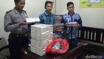 Ratusan Bungkus Rokok Tanpa Cukai di Banyuwangi Diamankan