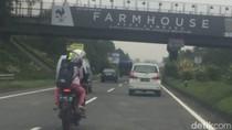 Viral Bikers Masuk Tol Purbaleunyi, Polisi: Pelat Nomor Motor Palsu