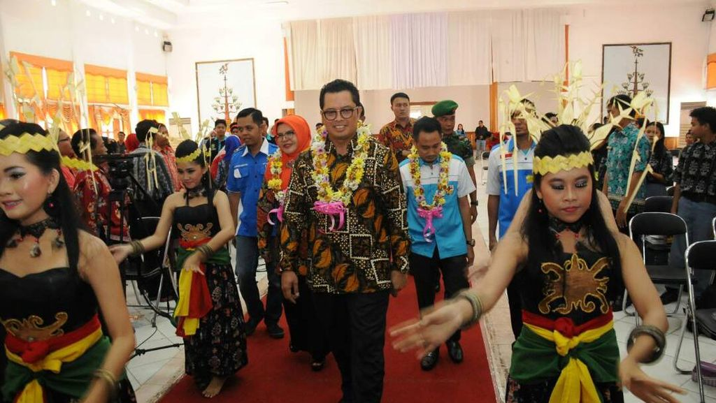 Wakil Ketua MPR Cerita soal Pindah Ibu Kota di Depan Mahasiswa Kalteng