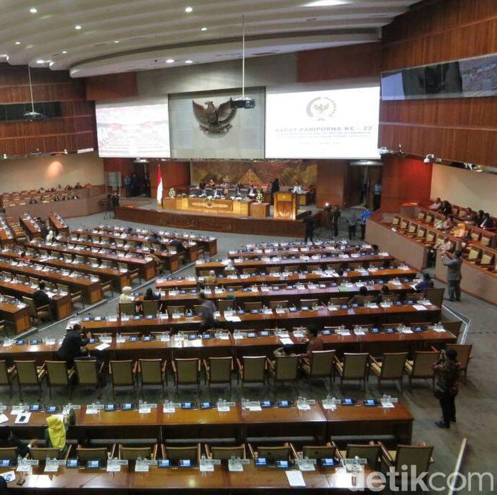 Bahas Hak Angket, 324 Anggota DPR Hadir di Sidang Paripurna