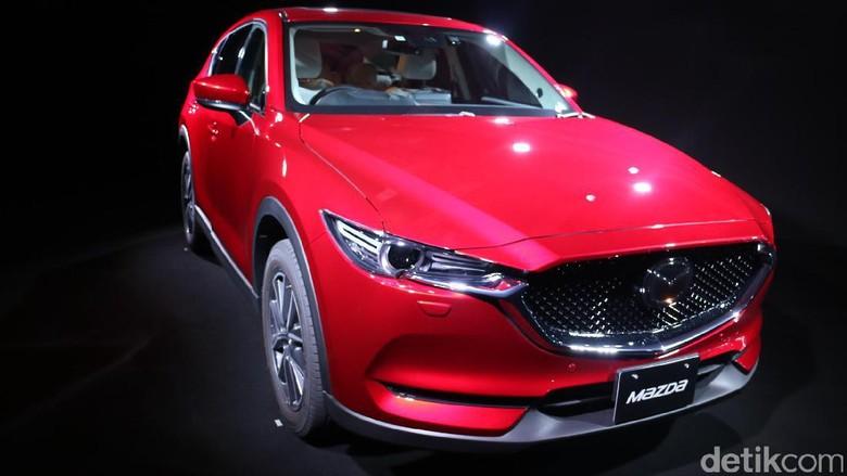Berada di Belakang Setir SUV Anyar Andalan Mazda, CX-5