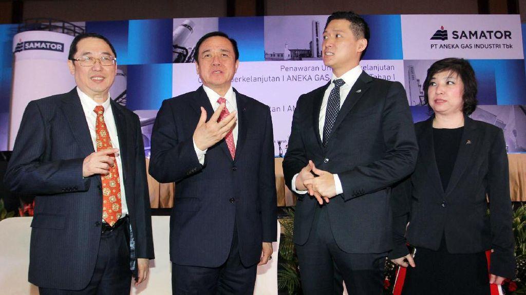 Aneka Gas Terbitkan Obligasi Rp 500 Miliar