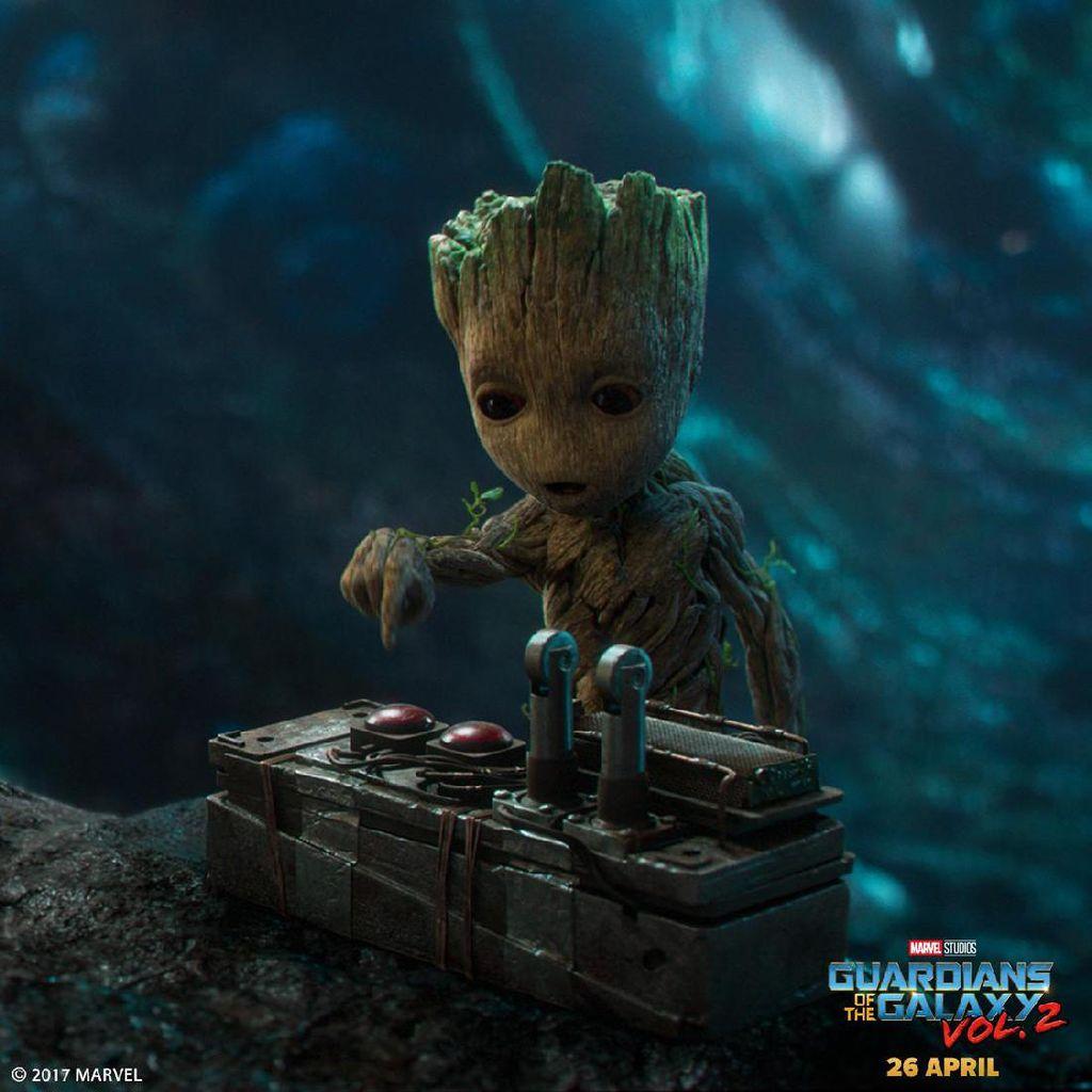 Groot Jadi Karakter Baru di Guardians of the Galaxy 2