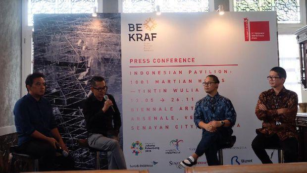 BEKRAF Dukung Paviliun Indonesia di Venice Art Biennale 2017