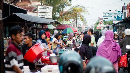 Rutinitas Pasar Kranggan
