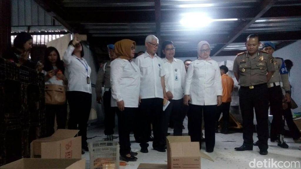 BPOM Gerebek Pabrik Kosmetik Ilegal di Tangerang