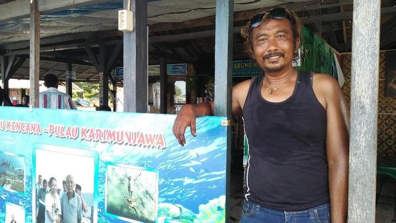 Foto: Penyayang Hiu dari Karimunjawa (Melissa Bonauli/detikTravel)