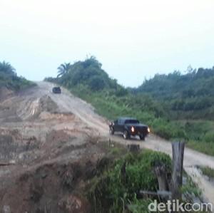 Lewat Jalan Paralel, Warga Dusun Merau Hanya Butuh 30 Menit ke Kota