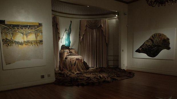 Pameran Hanafi di New York Pembuka Peringatan 350 Tahun Perjanjian Breda