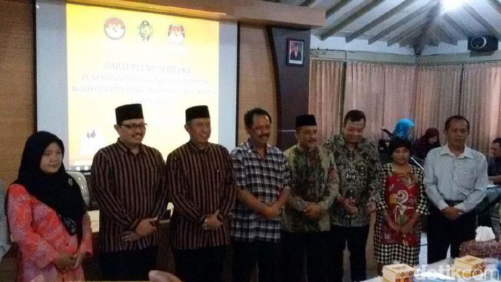 KPU Kota Yogyakarta Tetapkan Haryadi-Heroe Pemenangan Pilwakot