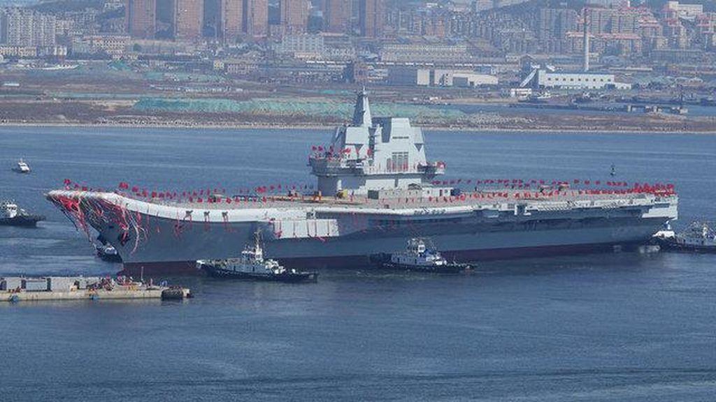Fakta-fakta Menarik Kapal Induk Pertama Buatan China
