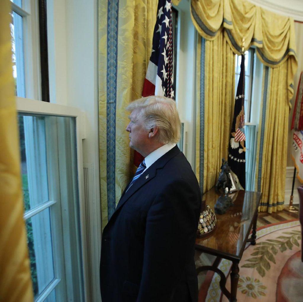 Jelang 100 Hari, Trump Pikir Jadi Presiden AS Akan Lebih Mudah