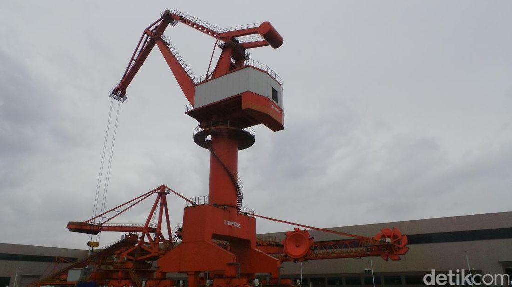 Produsen Crane China Bidik Proyek Pelabuhan RI