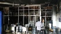 Dealer Motor di Yogya Terbakar, Ribuan Sparepart Kendaraan Ludes