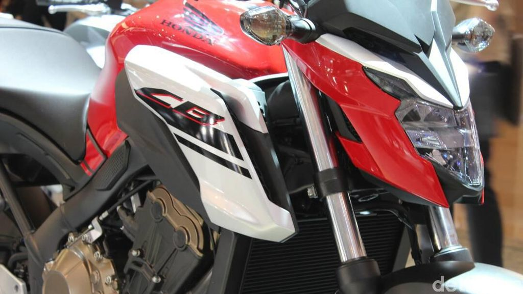 Ini Wajah Garang Honda CB650F
