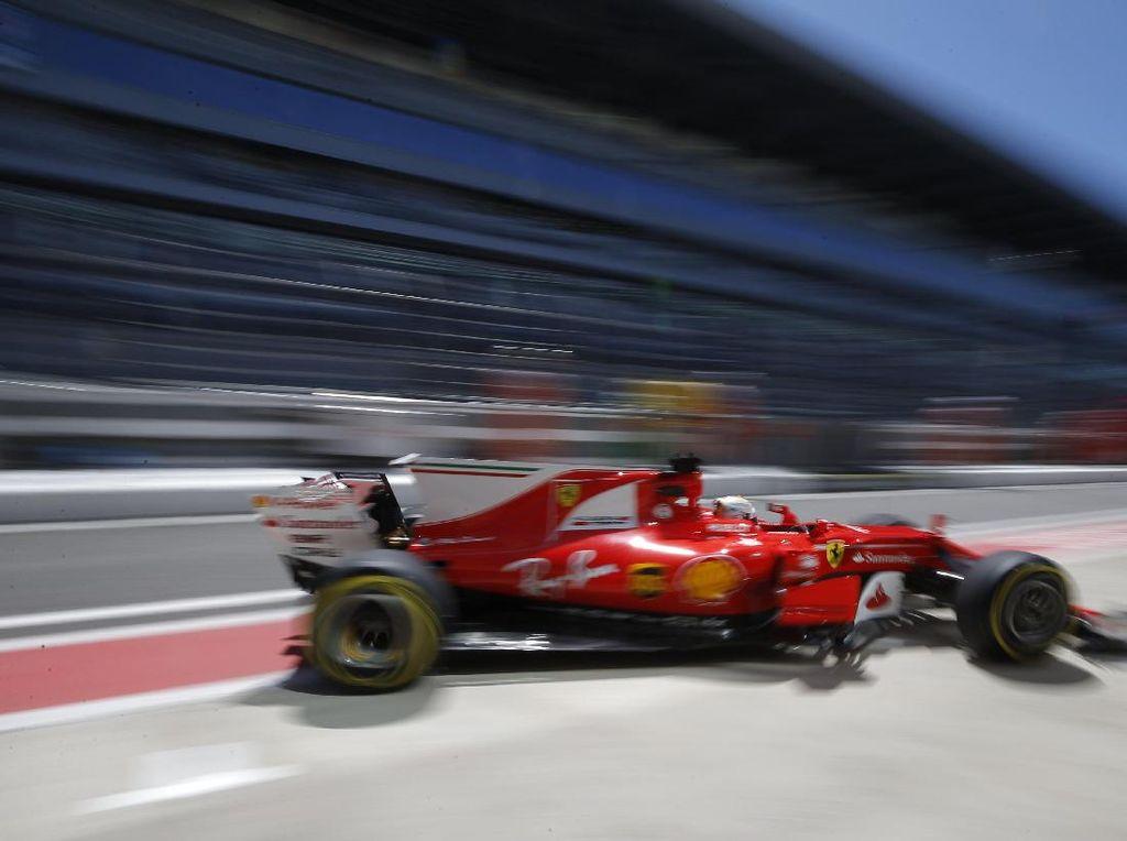 Ferrari Masih Tercepat, Kini Giliran Vettel