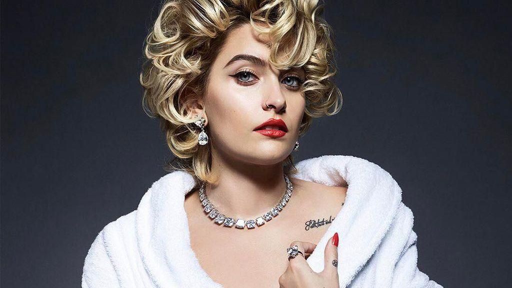 Ketika Paris Jackson Bergaya Seksi Layaknya Marilyn Monroe