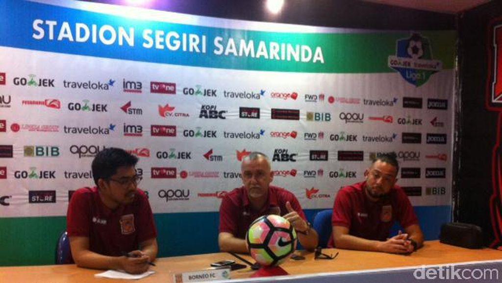 Borneo FC Keluhkan Wasit dan Pembatasan Usia