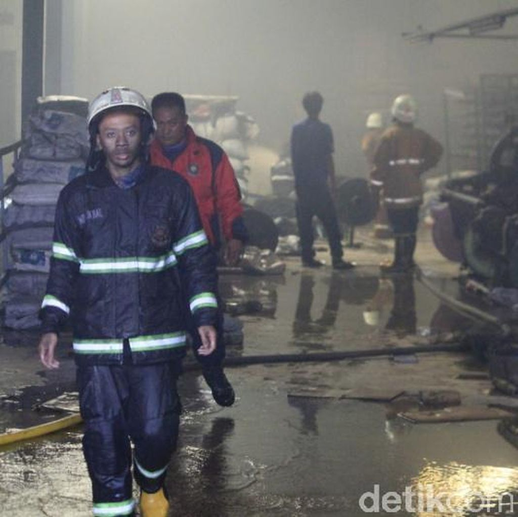 Pabrik Waring di Majalaya Terbakar, Kerugian Mencapai Rp 2 M