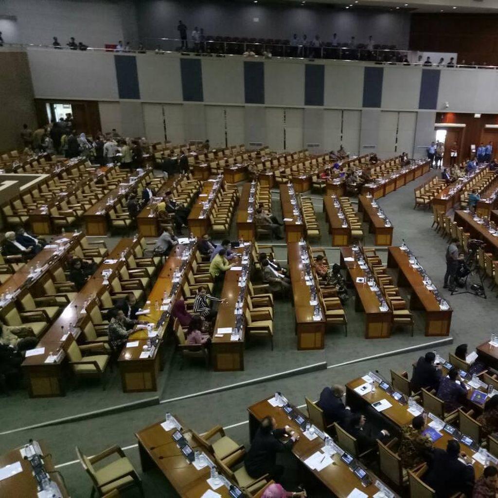 Perjalanan Hak Angket KPK Hingga Disetujui Paripurna DPR