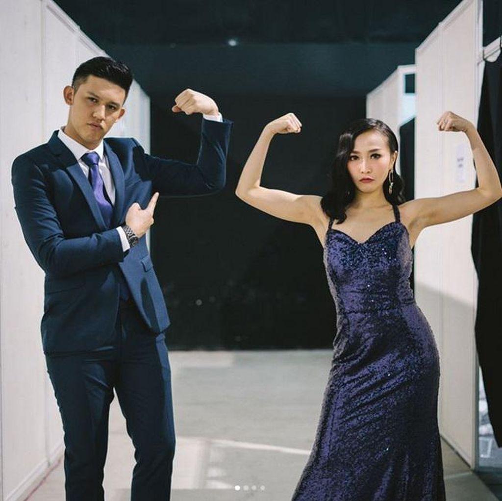 Foto <i>Couple</i> Rinni Wulandari dan Jevin Julian, Lucu Banget!