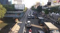 Massa Aksi GNPF Bubar, Lalin di Jl Gajah Mada Mulai Terurai