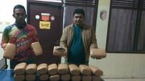 Polsek Muara Batu Aceh Amankan 20 Bal Ganja di Gubuk Kosong