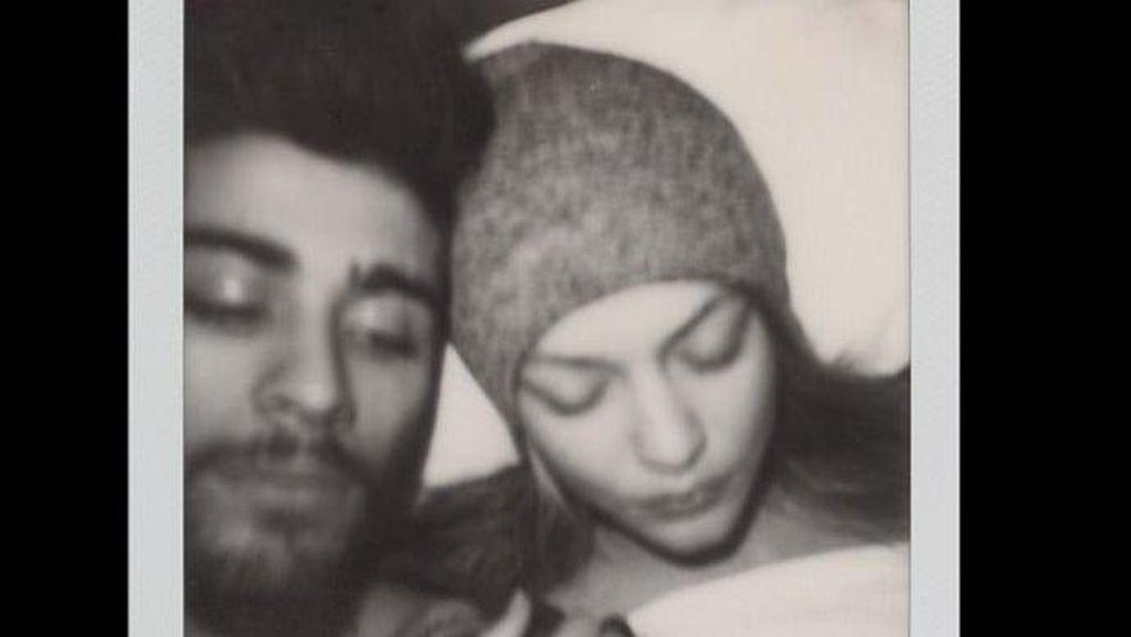 Kemesraan Gigi Hadid dan Zayn Malik dalam Gigis Journal
