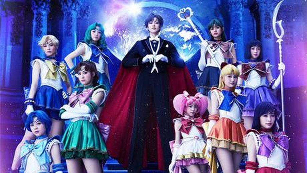 Panggung Musikal Sailor Moon Bagian Akhir Pentas Keliling Jepang