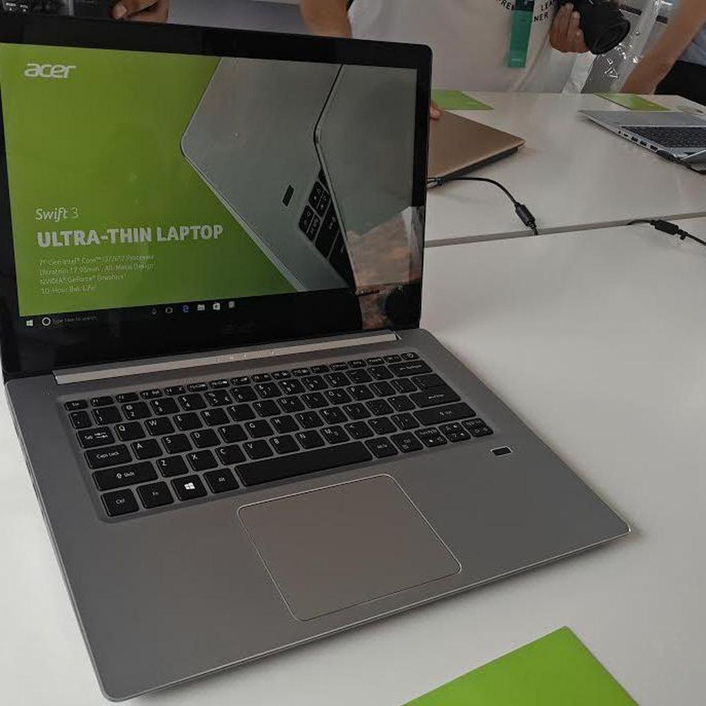 Laptop Acer Swift Terbaru Makin Seksi