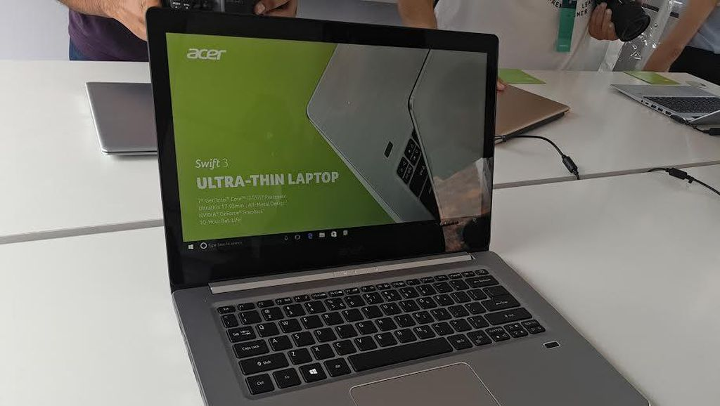 Laptop Acer Swift Terbaru Makin Seksi