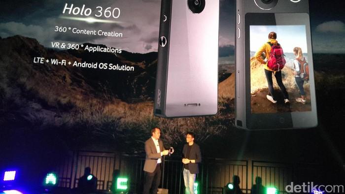 Holo 360, Kamera 360 Berbekal OS Android