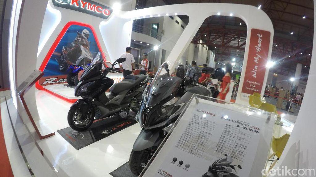 Merek Motor Taiwan, Kymco Balik Lagi ke Indonesia
