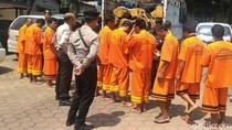 Diwarnai Kejar-kejaran, Polres Pemalang Tangkap 10 Pembalak Liar