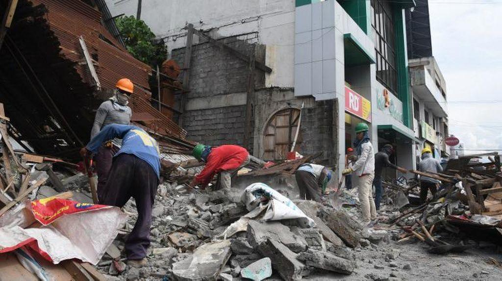 Gempa 6,8 SR di Filipina Picu Kerusakan Gedung, 2 Orang Luka