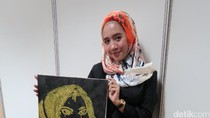 Hijabers Cantik Pamer Lukisan Glitter di Audisi Sunsilk Hijab Hunt