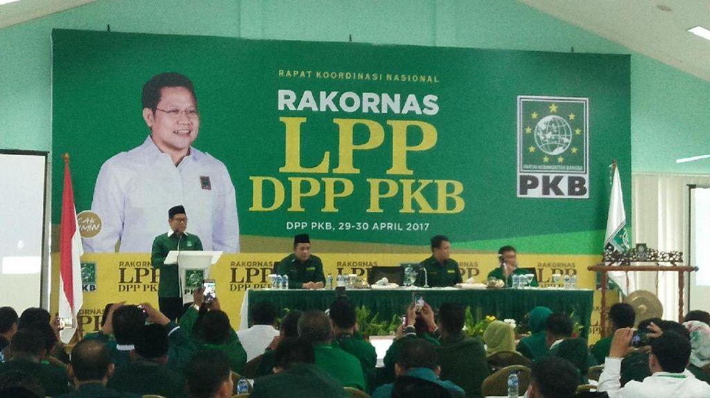 Gelar Rakornas LPP, Cak Imin Targetkan PKB 3 Besar di Pemilu 2019