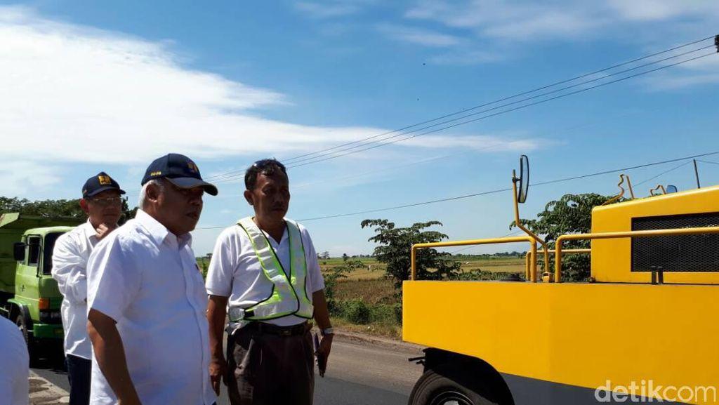 Libur Panjang, Menteri PUPR Cek Kondisi Terkini Jalan Pantura