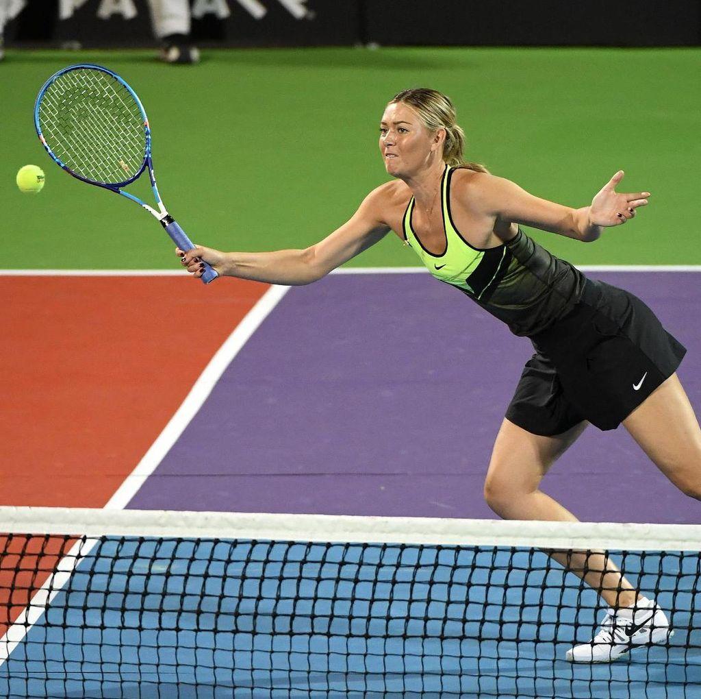 Sharapova Enjoy Melaju ke Semifinal pada Turnamen di Stuttgart
