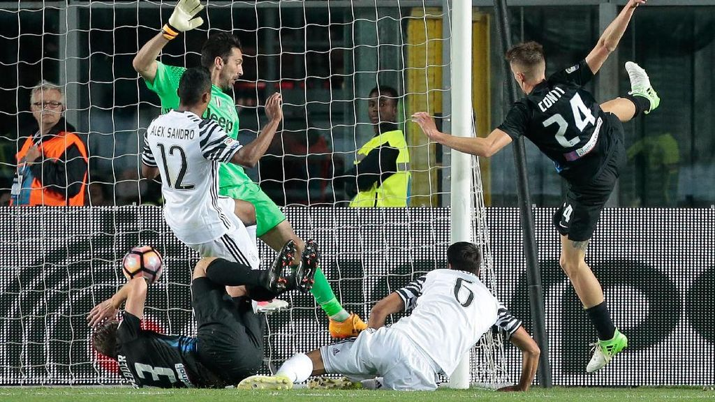 Juventus Ditahan Atalanta 2-2