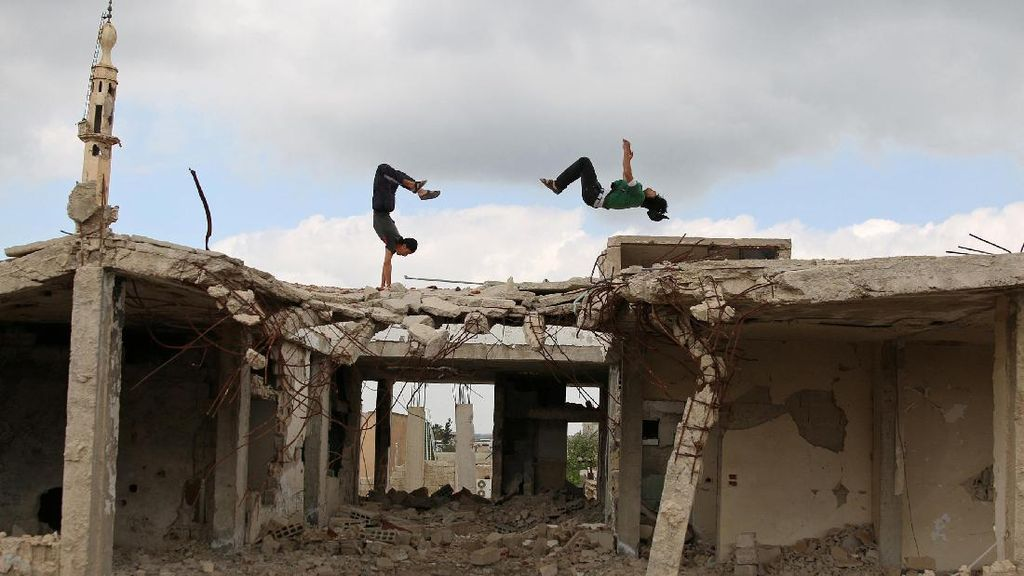 Parkour, Ekspresi Kebebasan Remaja di Suriah