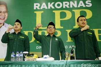 Gelar Rakornas, PKB Targetkan 3 Besar di Pemilu 2019