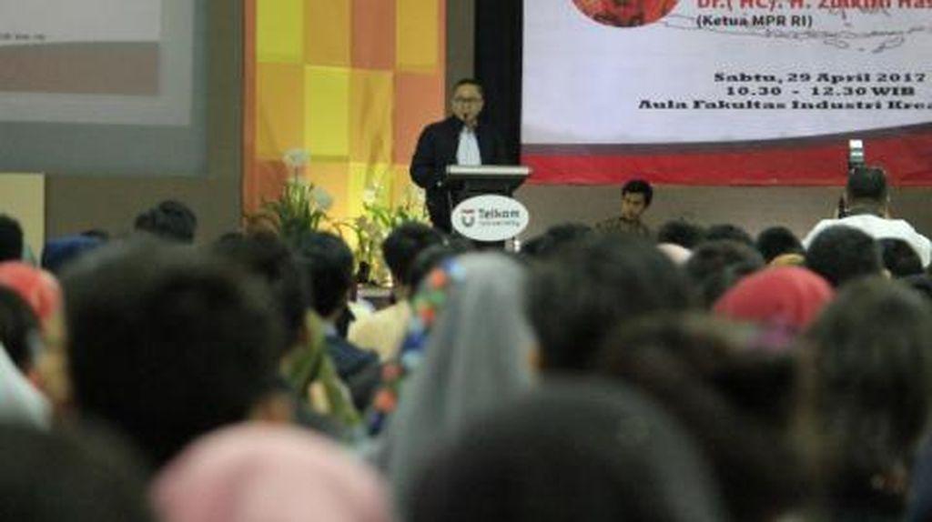 Ketua MPR: Hak Angket Terburu-buru dan Diputuskan Sepihak