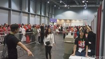 Antusiasme Buruh Migran RI Menanti Jokowi di Hong Kong