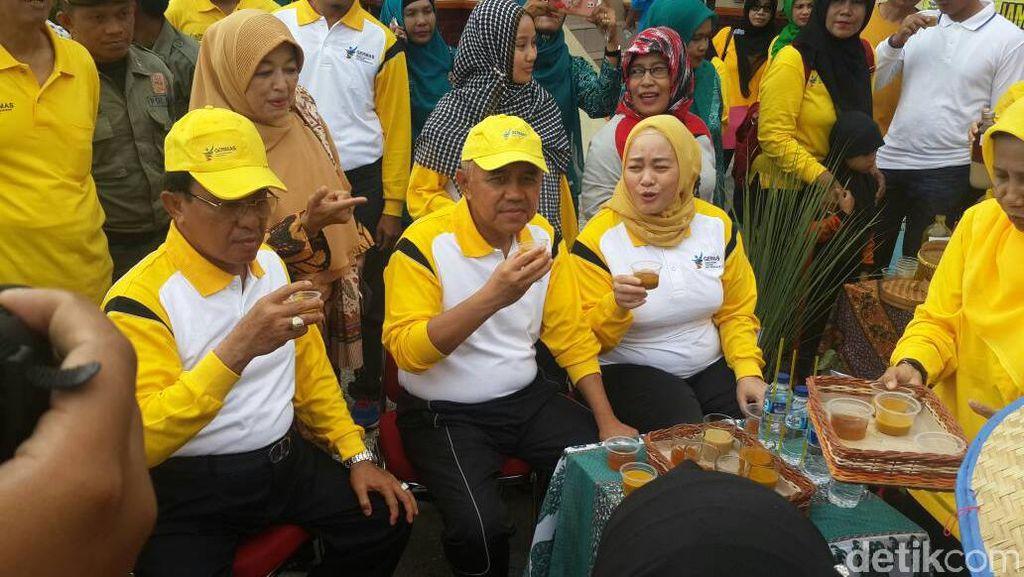 Gubernur Riau Ajak Masyarakat Inhil Hidup Sehat