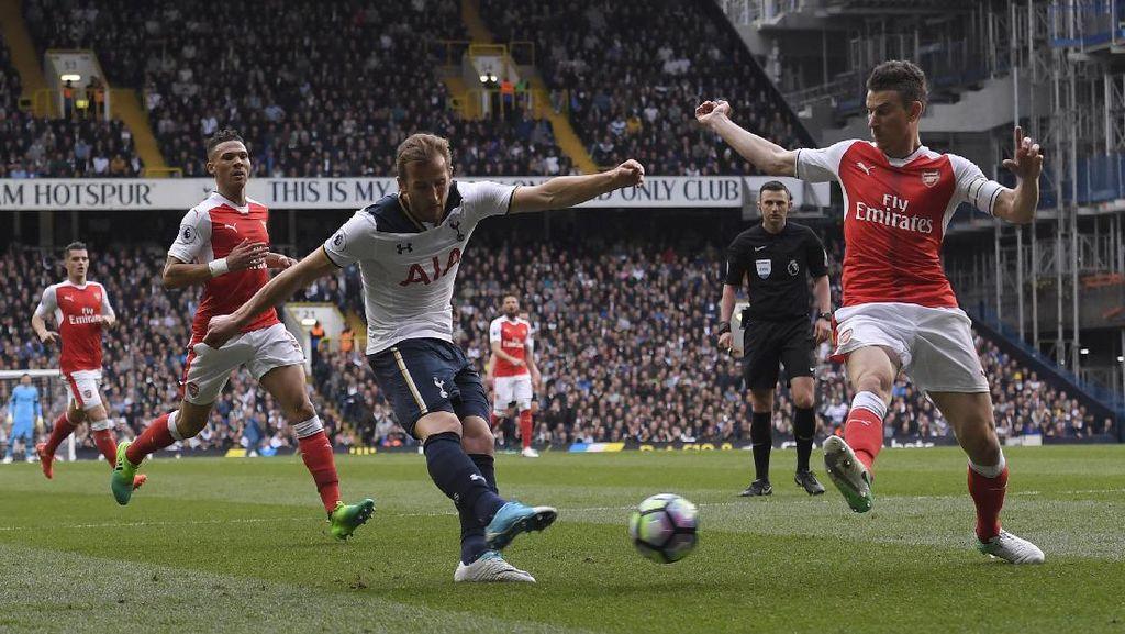 Laga Spurs vs Arsenal Masih 0-0 Saat Turun Minum