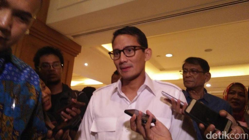 Bertemu Prabowo, Sandiaga Diminta Jangan Kecewakan Rakyat