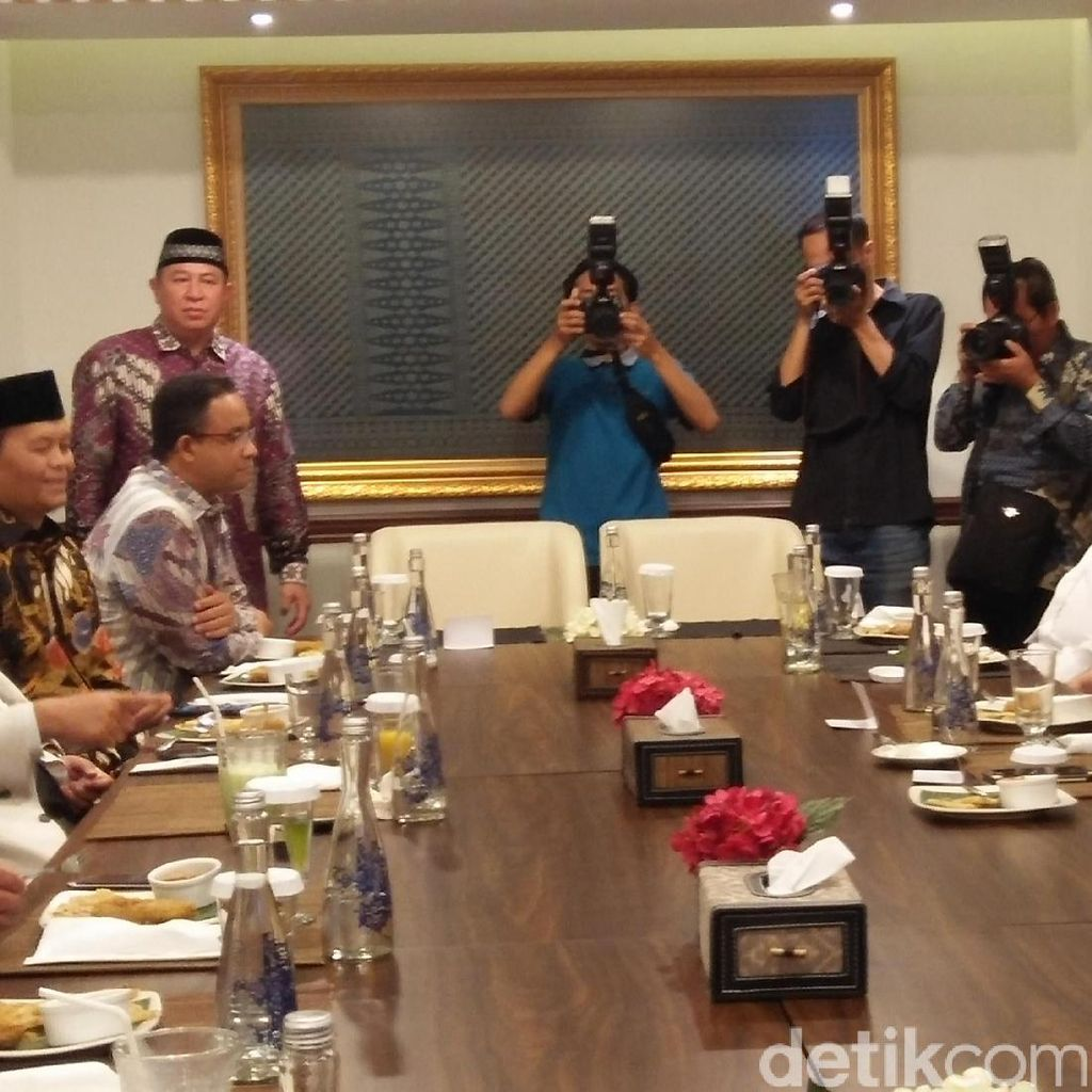 Syukuran Kemenangan Anies-Sandi, Prabowo: Persekutuan Kita Makin Kuat
